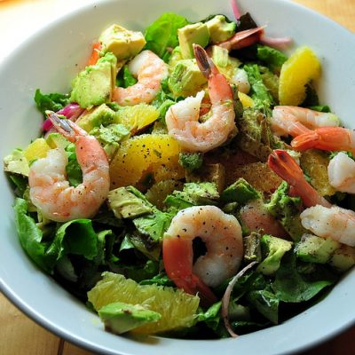 Image for Lemon Basil Shrimp Salad
