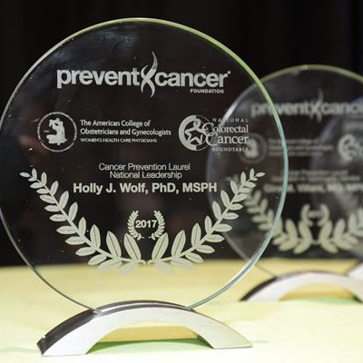 Image for Leaders in cancer prevention honored for COVID-19 resilience by the Prevent Cancer Foundation