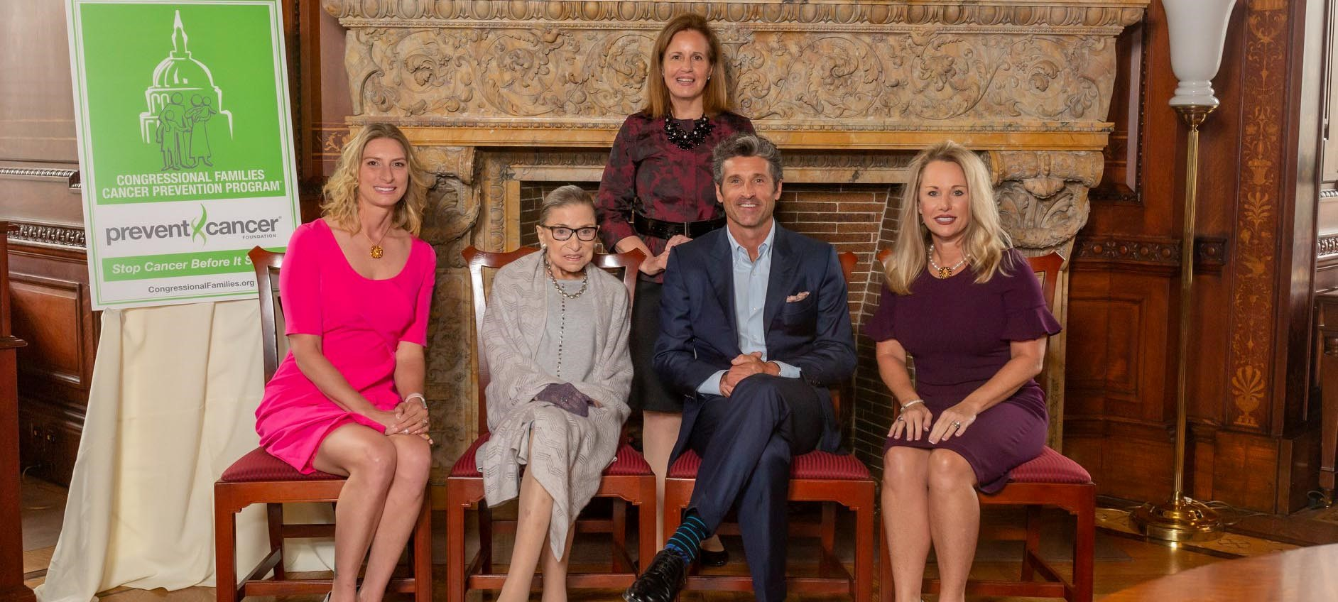 27th Annual Congressional Families Luncheon honors Ruth Bader Ginsburg, Patrick Dempsey, Amanda Soto and LeeAnn Johnson