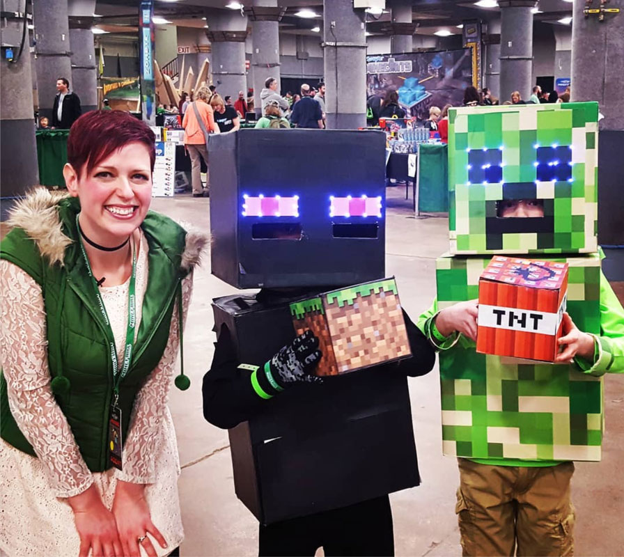 Alicia at Minefaire 2018