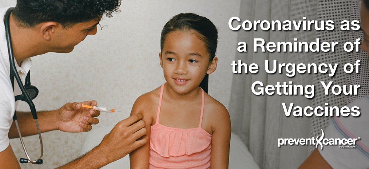 Coronavirus as a Reminder of the Urgency of Getting Your Vaccines
