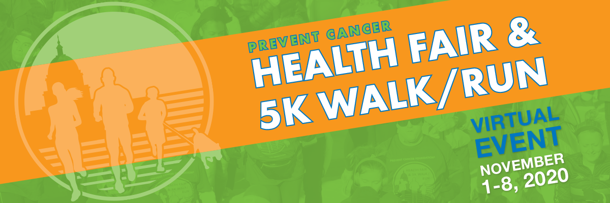 Prevent Cancer Virtual Health Fair and 5k