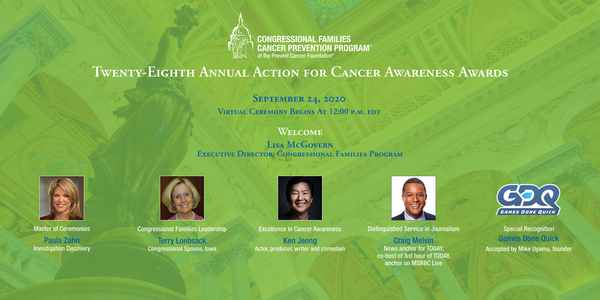 28th Annual Action for Cancer Awareness Awards