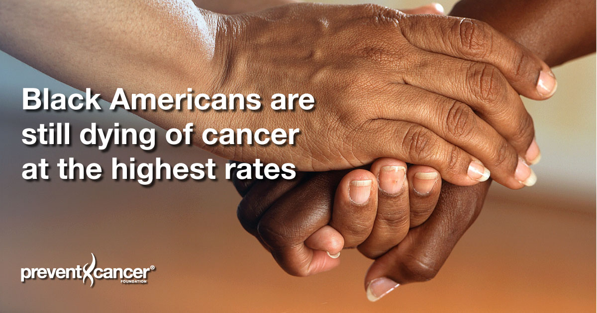 Black Americans are still dying of cancer at the highest rates