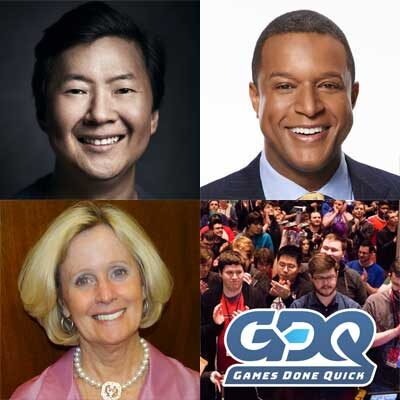 Image for Actor/producer Ken Jeong, TODAY news anchor Craig Melvin, charitable gaming organization Games Done Quick and congressional spouse Terry Loebsack to be honored at  Congressional Families Program virtual awards