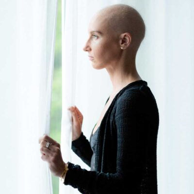 Image for What if you are living with cancer? Katie's story.