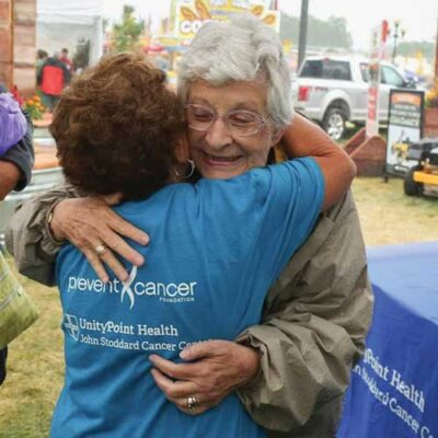 """Image for Barbara Grassley, breast cancer survivor: """"Just keep on getting checked!"""""""
