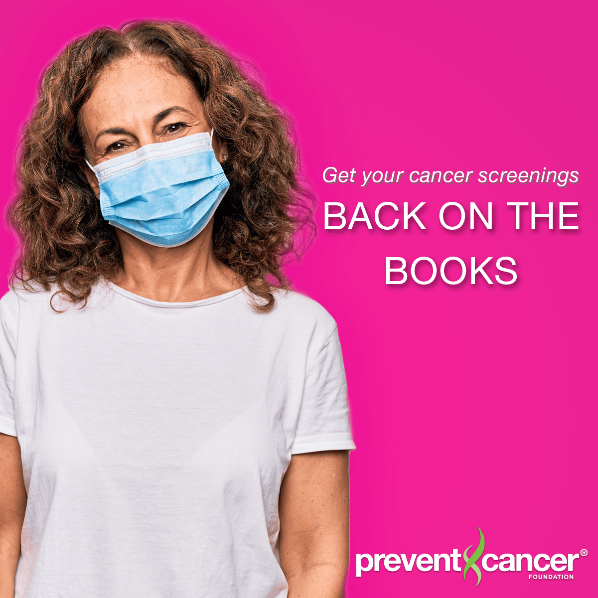 Get your cancer screenings Back on the Books